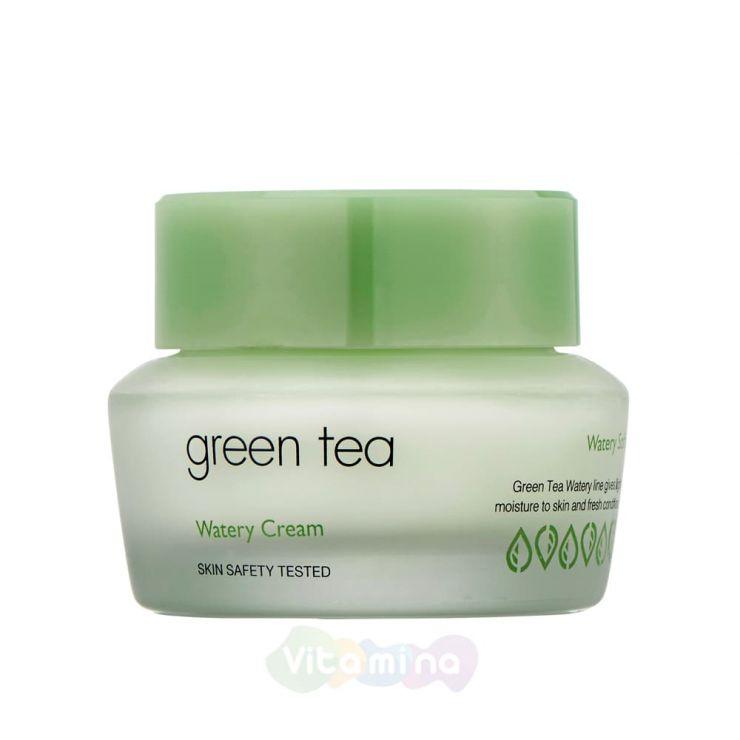 It's Skin Крем для лица с экстрактом зеленого чая Green Tea Watery Cream, 50 мл