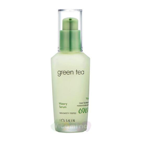 It's Skin Сыворотка для лица с экстрактом зеленого чая Green Tea Watery Serum, 40 мл