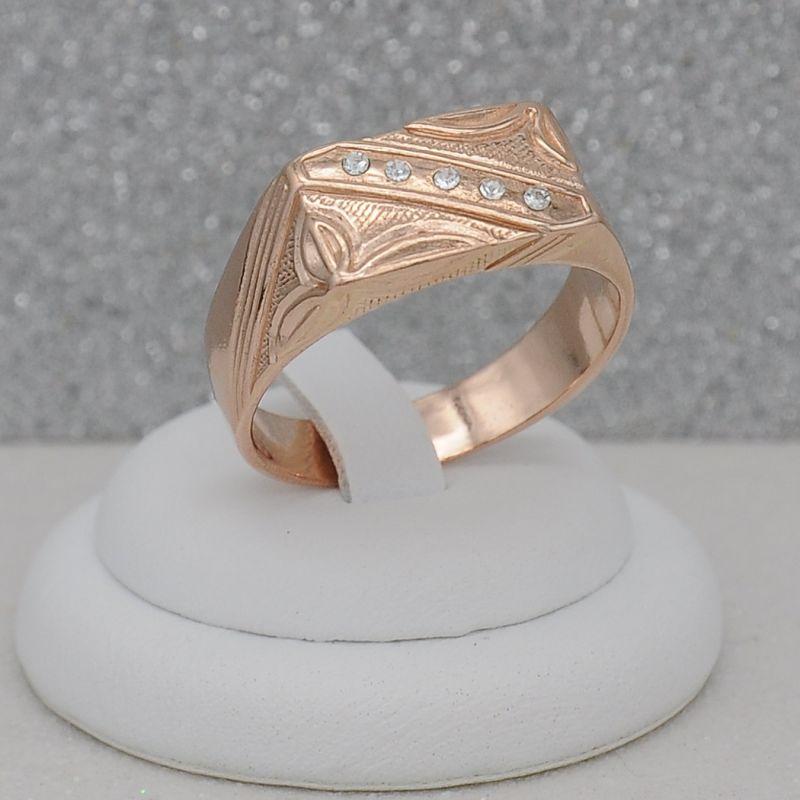 Кольцо мужское КМ631