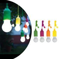Беспроводные светодиодные лампочки со шнурком Handy lux Colors, 4 шт (1)