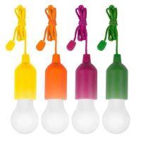 Беспроводные светодиодные лампочки со шнурком Handy lux Colors, 4 шт (2)