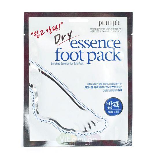Petitfee Маска носочки для ног с сухой эссенцией Dry Essence Foot Pack