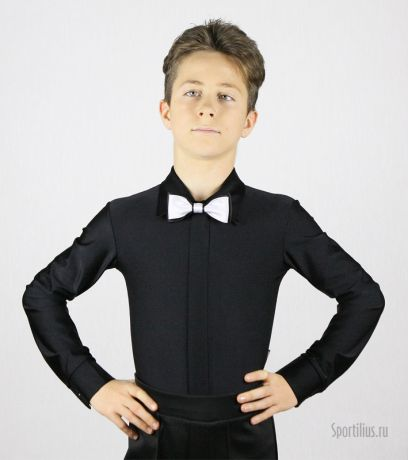 Рубашка для танцев черная