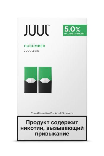 Картридж Juul Labs x2 JUUL Огурец (59 мг)
