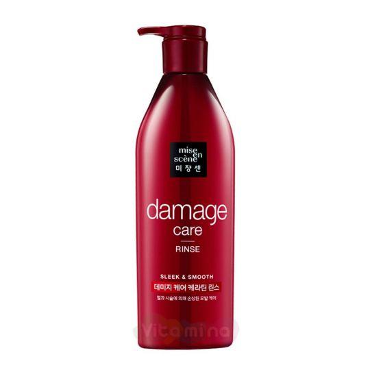 Mise En Scene Кондиционер для поврежденных волос Damage Care Rinse, 680 мл