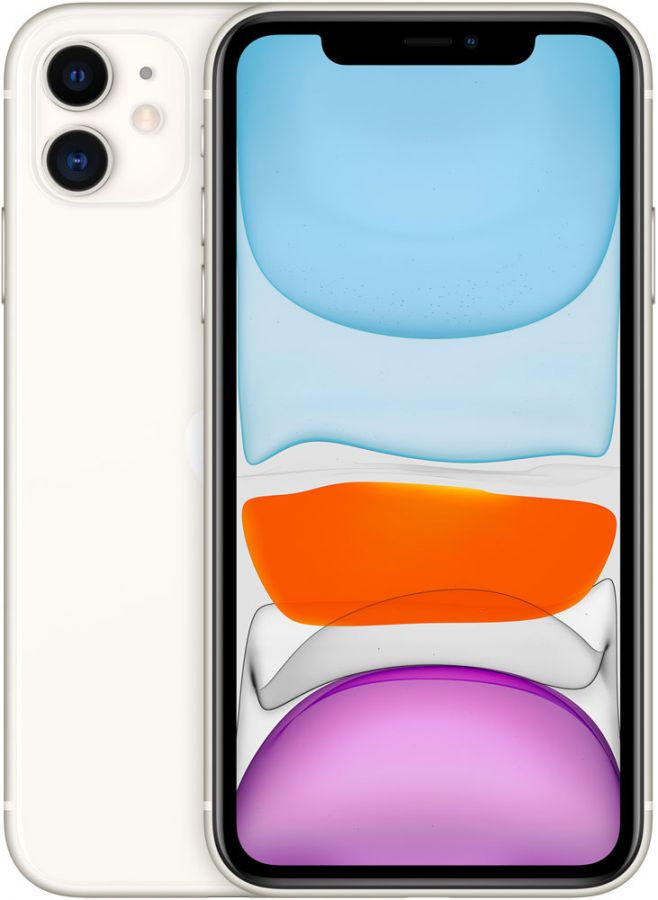 Apple iPhone 11 128Gb (White) (MHDJ3LL/A)