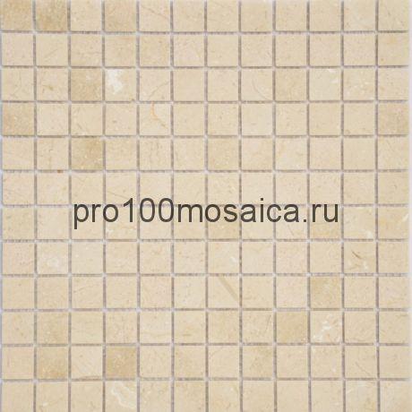 Мозаика Pietrine - Crema Marfil матовая 29,8x29,8х0,4 см (чип 23х48х4 мм)