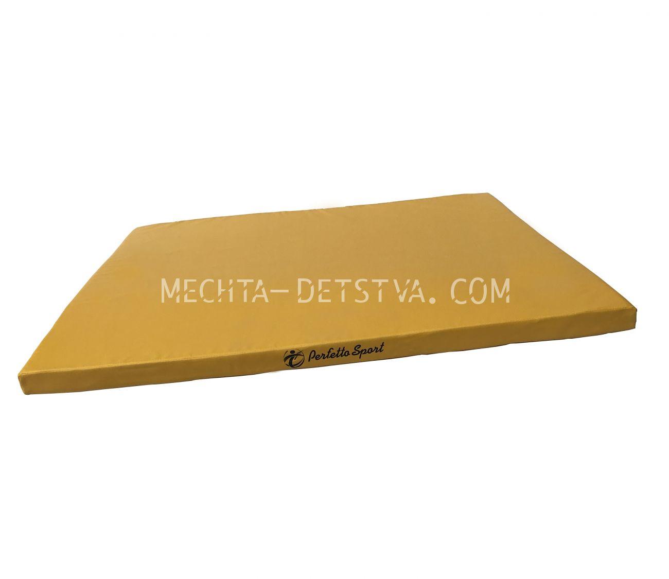 Мат 80х125х5 см желтый