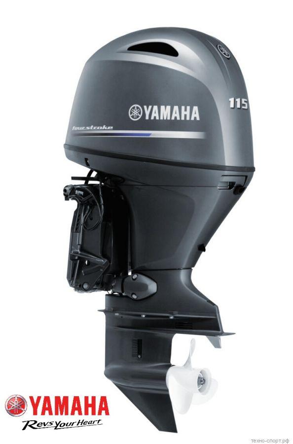 Лодочный мотор Yamaha F 115 BETL - 4х-тактный