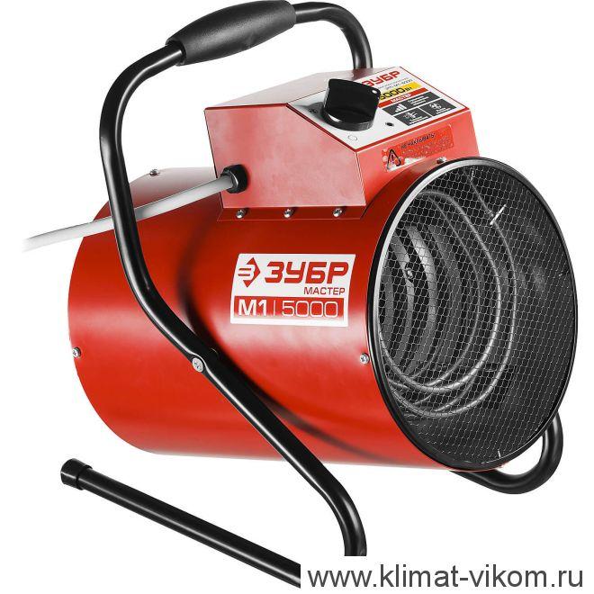 Тепловая электрическая пушка ЗТП-М1-5000 4,5 кВт (круглая)