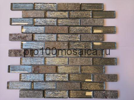 Мозаика Naturelle - Dubai 26x29,8х0,8 см (чип 23х73х8 мм)