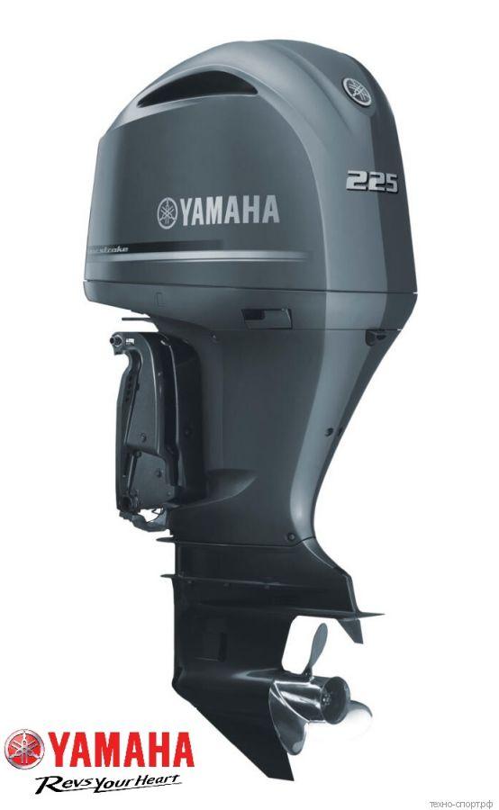 Лодочный мотор Yamaha FL 225 FETX - 4х-тактный  (V6)