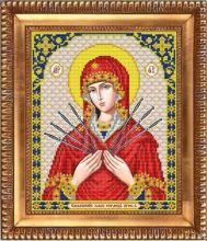 И-4087 Благовест. Пресвятая Богородица Семистрельная. А4 (набор 900 рублей)