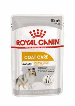 Роял канин Коат Кэа паштет для собак пауч (Coat Care Loaf) 85г.