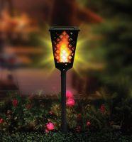 Уличный фонарь на солнечной батарее Dancing Tiki Light (3)