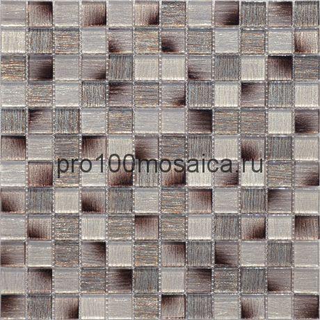 Мозаика Copper Patchwork 29,8х29,8x0,4 см (чип 23х23х4 мм)