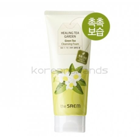 The SAEM Healing Garden Green Tea Cleansing Foam 170 мл.
