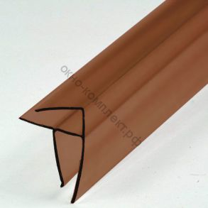 Угловой профиль 4-6мм (6м) Цвет:бронзовый