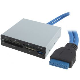 Card Reader внутренний 3Q CRI3002 USB 3.0 (19pin)