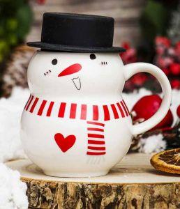 Кружка  Снеговик Поцелуй