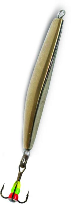 Блесна зимняя SWD ICE GLAIDER (51мм, вес 12г, сереб+золото, блист)