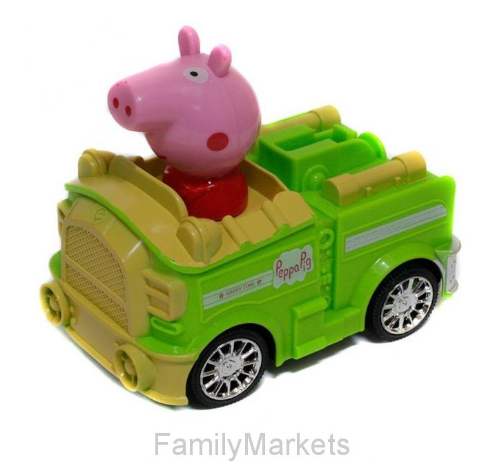 Игрушка Свинка Пеппа на машине