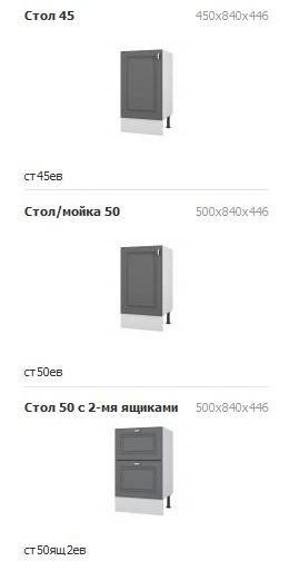 Кухня Винтаж МДФ (экошпон)