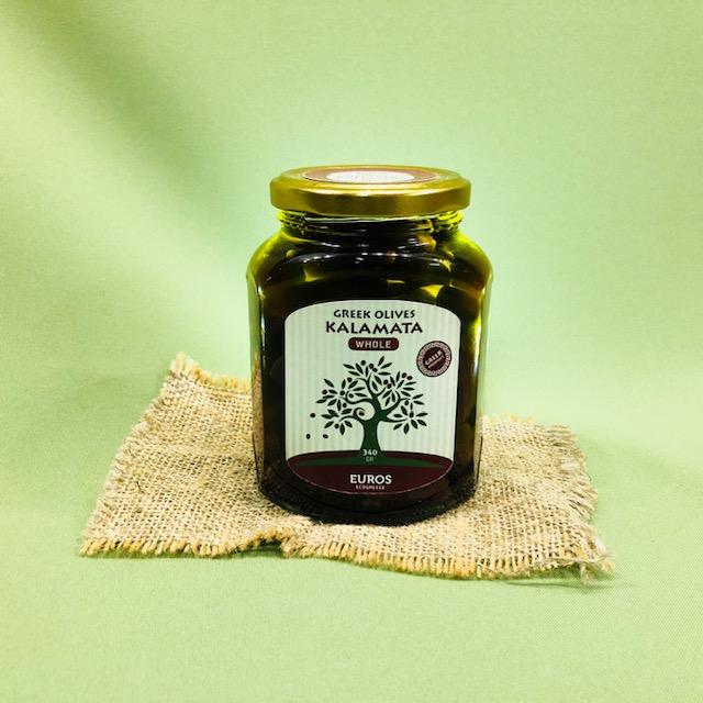 Оливки КАЛАМАТА с косточкой в оливковом масле Extra Virgin