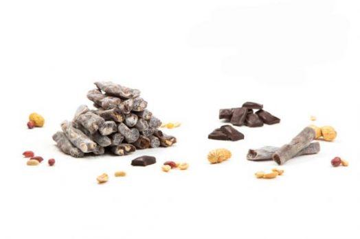 Лукум пальчики шоколадные с арахисом