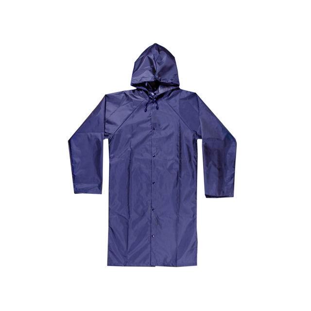 Супер-Дождевик (Куртка-дождевик для активного отдыха), Цвет Синий