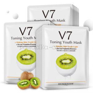 Тонизирующая маска Киви V7 Bioaqua КИВИ