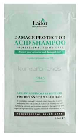 Lador damaged protector acid shampoo pouch 10ml