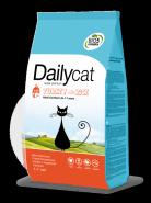 Dailycat ADULT Steri Lite Turkey & Rice для взрослых стерилизованных кошек с индейкой и рисом (0,4кг)