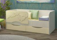 Детская кровать Дельфин 2 МДФ 1,6 м