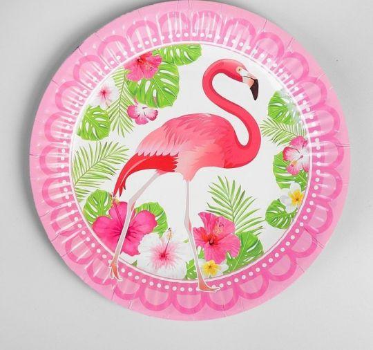 Тарелки Грациозный Фламинго