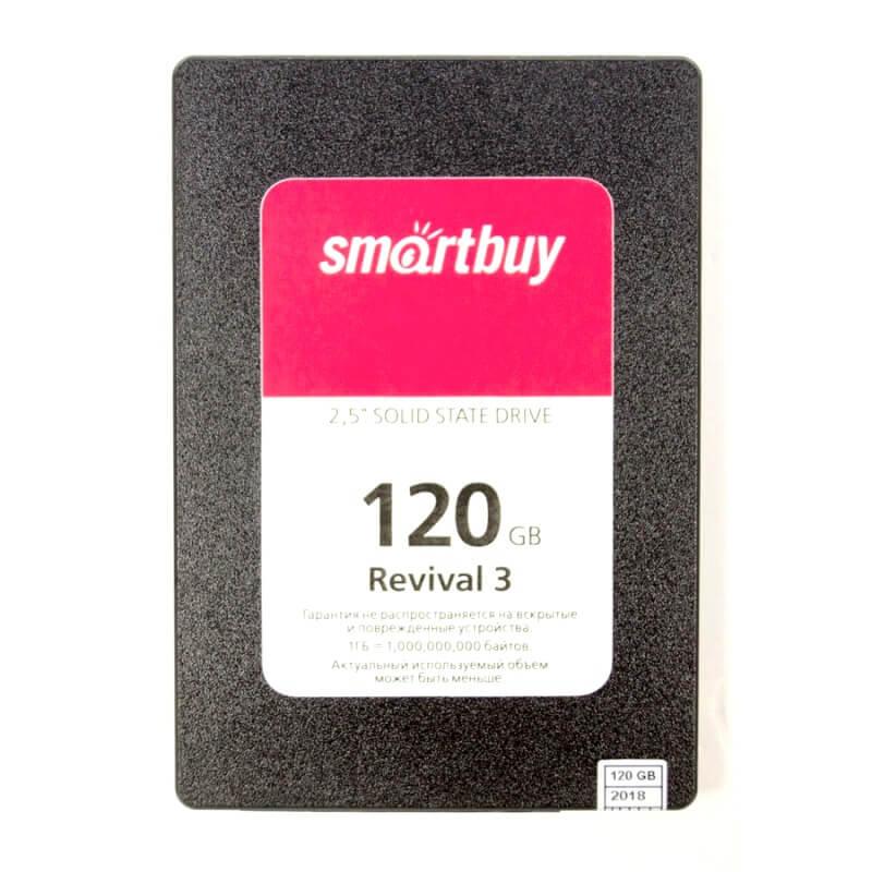 """Внутренний жесткий диск форм-фактор 2.5"""", 120 Gb, SSD, Smartbuy Revival 3"""