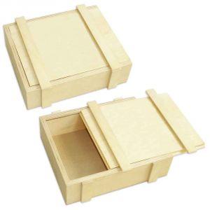 Коробка под подарок (220x198x68 мм)
