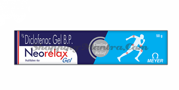 Неорелакс гель (диклофенак 1%) Мейэр Органикс | Meyer Organics Neorelax Gel
