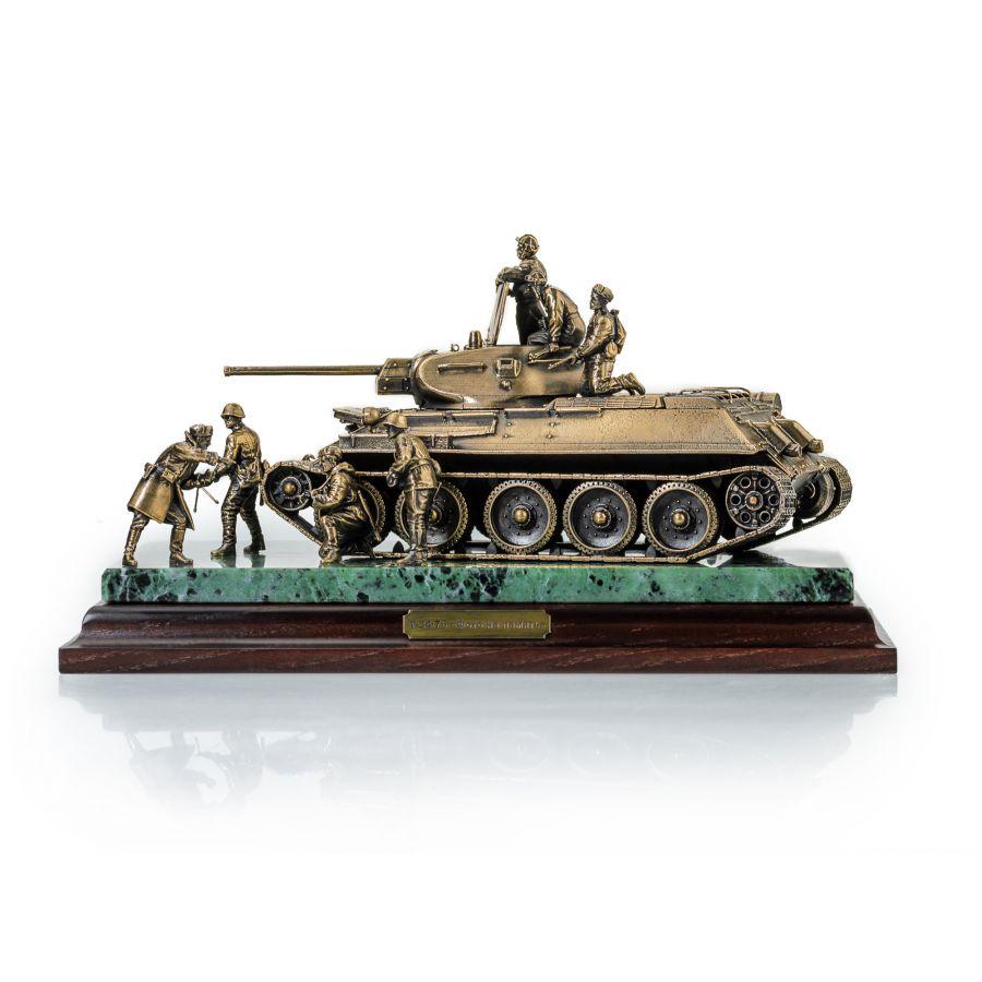 "ДИОРАМА ""ТАНК Т-34/76 ""Фото на память"""" 1/35"