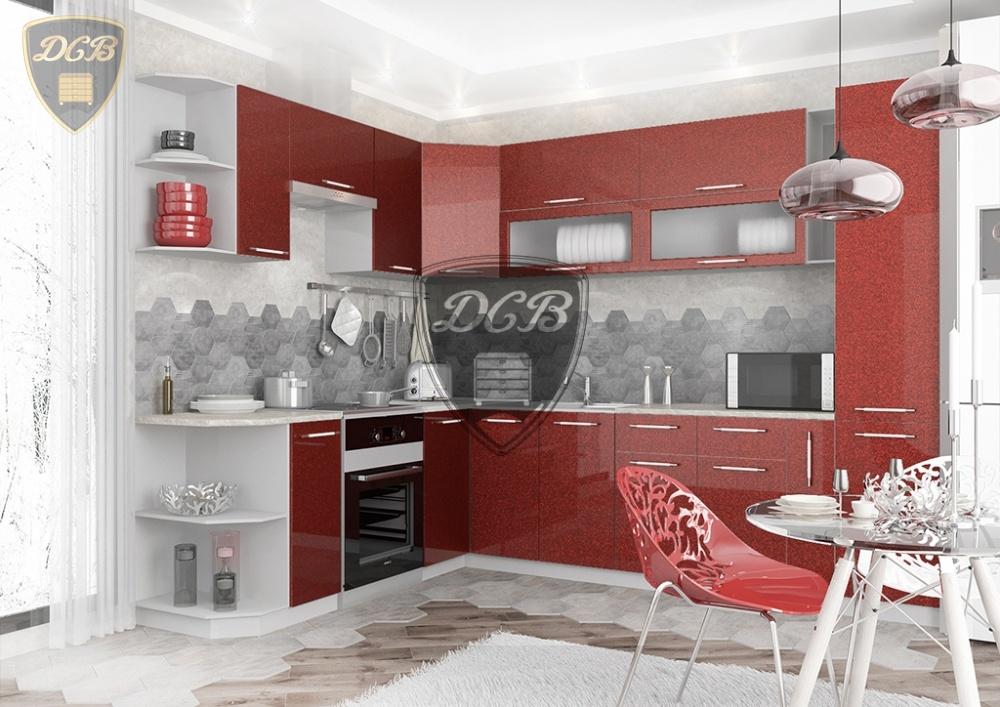 Кухня Олива МДФ угловая