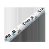 Герметик Акрилатный Стиз B 900мл Паропроницаемый, Однокомпонентный, Белый / Сази