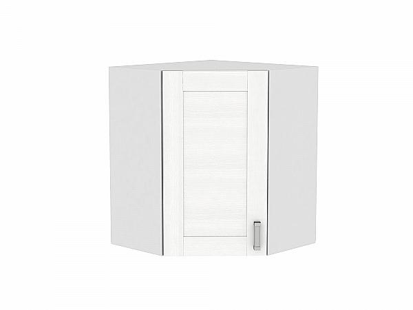 Шкаф верхний угловой Лофт ВУ590 (Snow Veralinga)