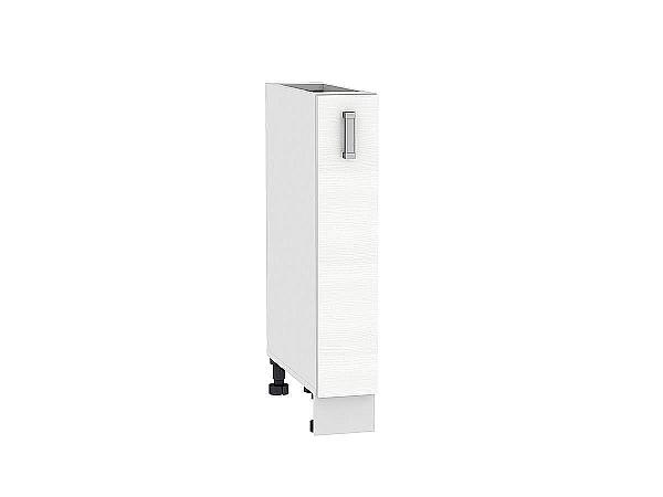 Шкаф нижний бутылочница Лофт НБ200 (Snow Veralinga)