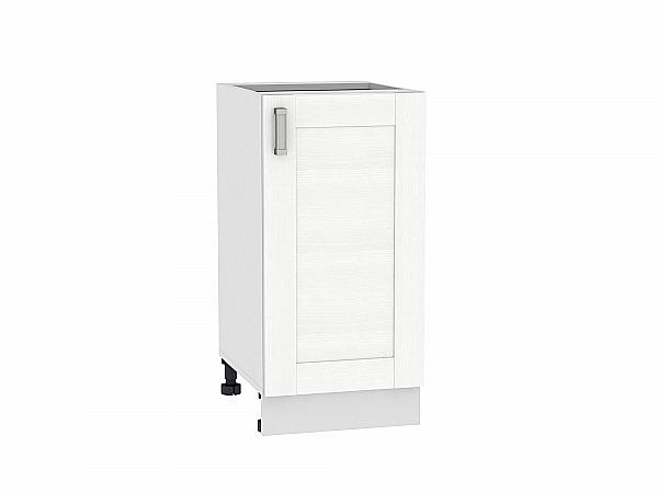 Шкаф нижний Лофт Н400 (Snow Veralinga)