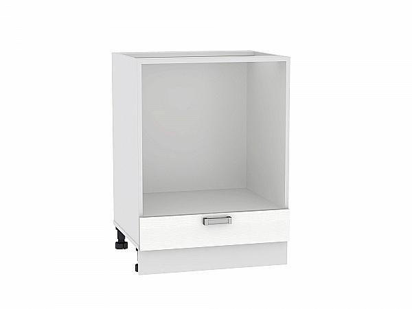 Шкаф нижний под духовку Лофт НД600 (Snow Veralinga)