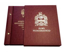 Набор БИМ(биметалл), 2 монетных двора. 122 шт. 2000-2019 в альбоме Albo Numismatico