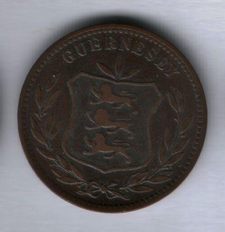 8 дублей 1903 года Гернси