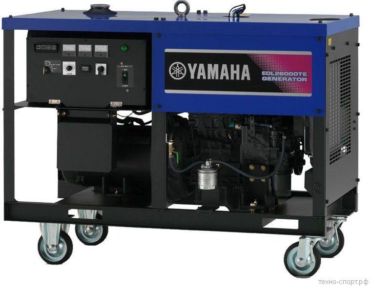 Дизельный генератор Yamaha 26000TE
