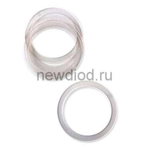 Кольцо протекторное(прозрачное), диаметр 65 (в пачке 100 шт) Н (в коробке 1000)