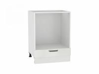 Шкаф нижний под духовку Прага НД600 в цвете Белое дерево